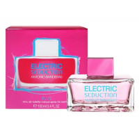 Tualetinis vanduo moterims Antonio Banderas Electric Blue Seduction for Woman EDT 100 ml