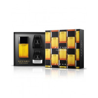 Rinkinys vyrams Azzaro Pour Homme Gift Set EDT: 100 ml dušo gelis, 75 ml Pour Homme After Shave Balm, Pour Homme 75 ml